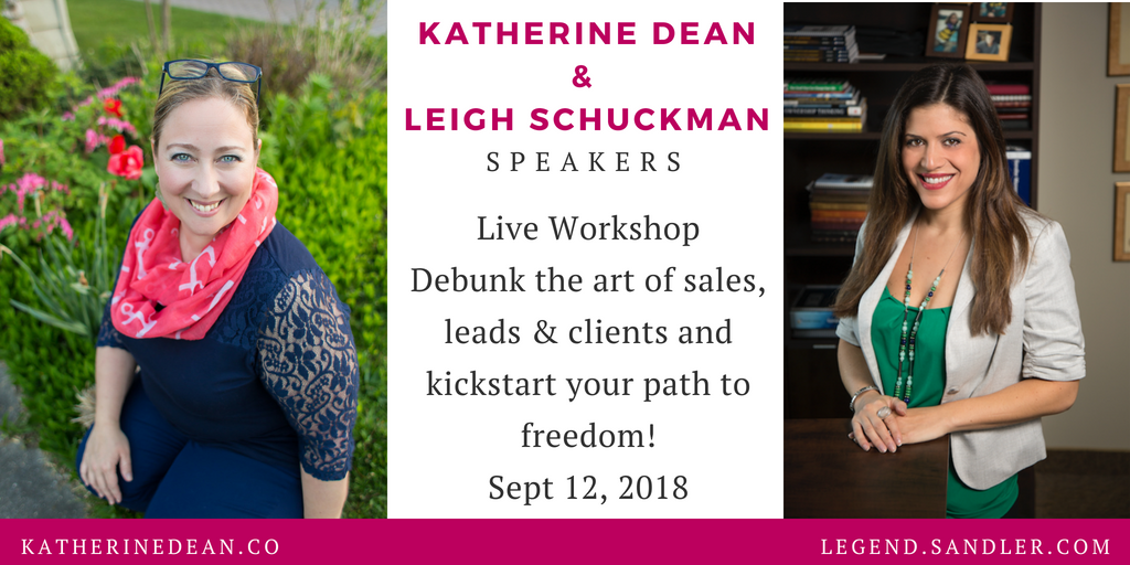 Live Workshop – September 12, 2018